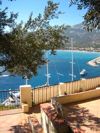 Photo baie de Calvi